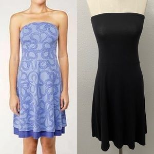 Lululemon Beat the Heat Dress Black and White